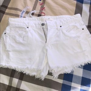 White Joe's jeans shorts